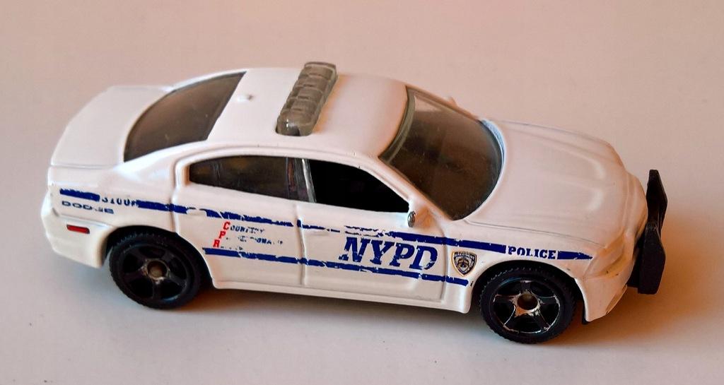 MATCHBOX-DODGE CHARGER PURSUIT NYPD