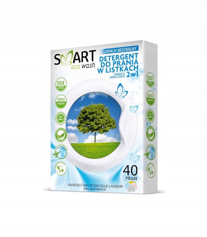 Listki do prania i zmiękczania Smart Eco Wash