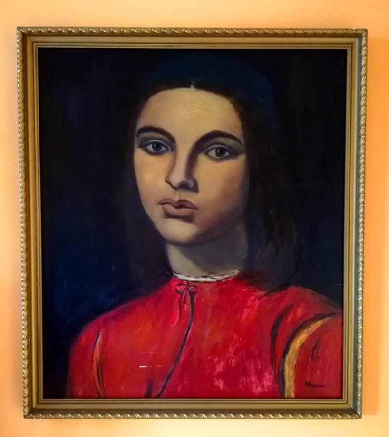 Renesansowa dziewczyna - Sinclair - obraz olejny