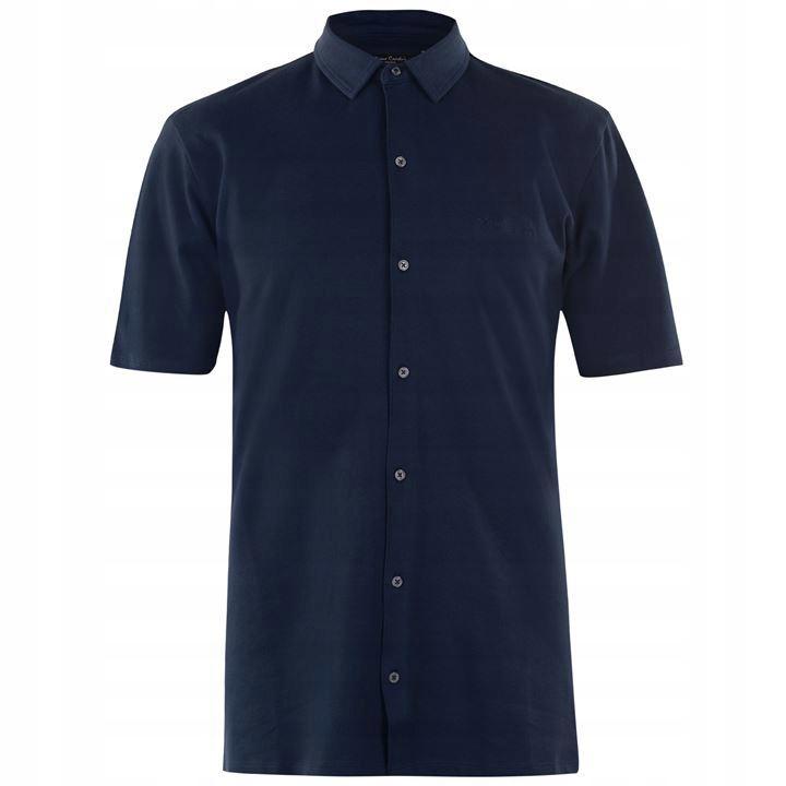 koszule męskie PIERRE CARDIN męska koszula M casua