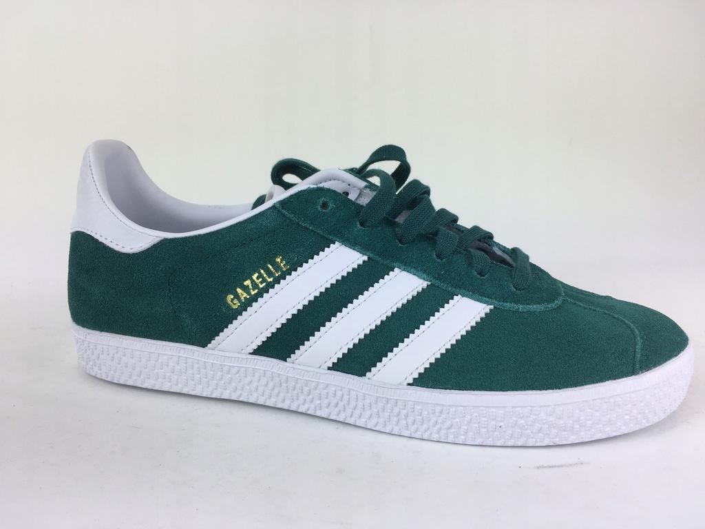 272 Adidas Gazelle zielone 36 2/3