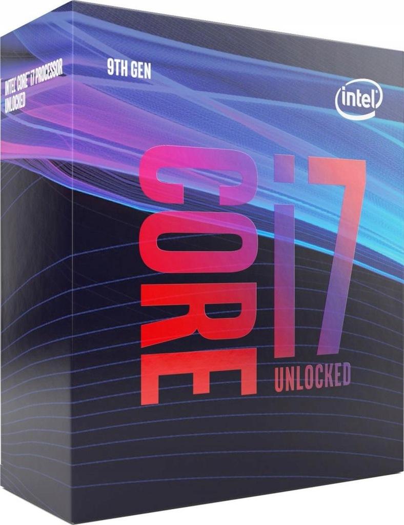 Procesor Intel 8x Core i7-9700K BOX BX80684I79700K