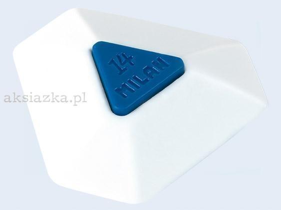 Gumka plastikowa trójkatna (14szt) MILAN