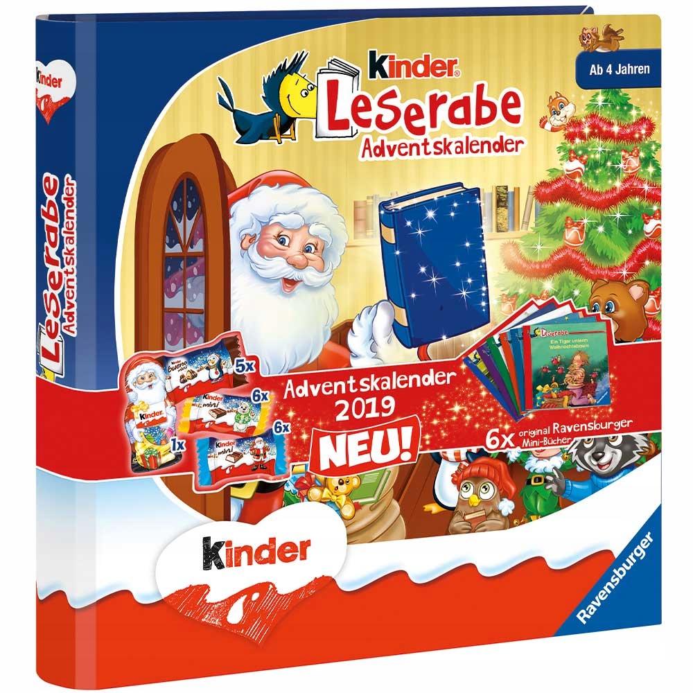 Kinder Kalendarz Adwentowy Duza Ksiazka Z Niemiec 8532136836 Oficjalne Archiwum Allegro