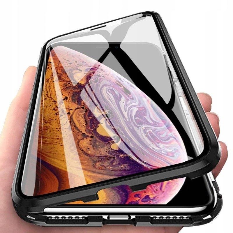 Do iPHONE XR MAGNETYCZNE ETUI Z PRZEDNIM SZKŁEM 5d