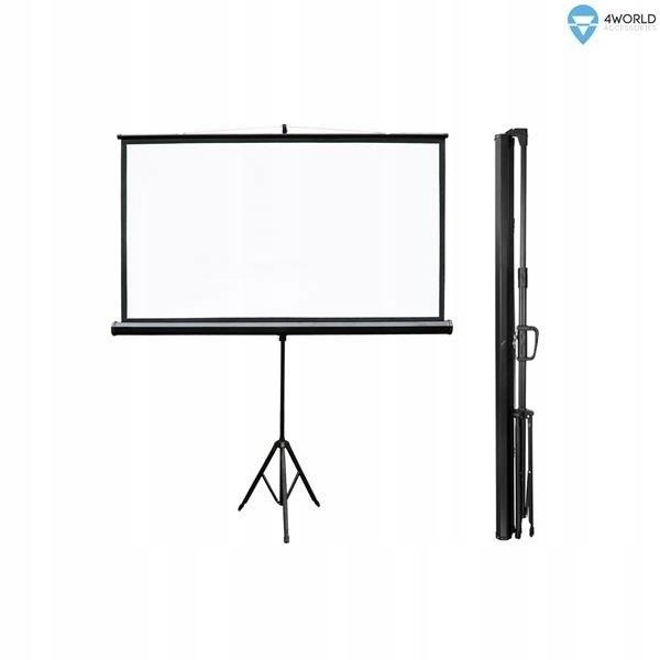 Ekran projekcyjny na statywie 159x90 (72'', 16:9)