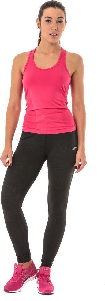 4f Spodnie damskie H4Z17-SPDF003 4F czarne r. L
