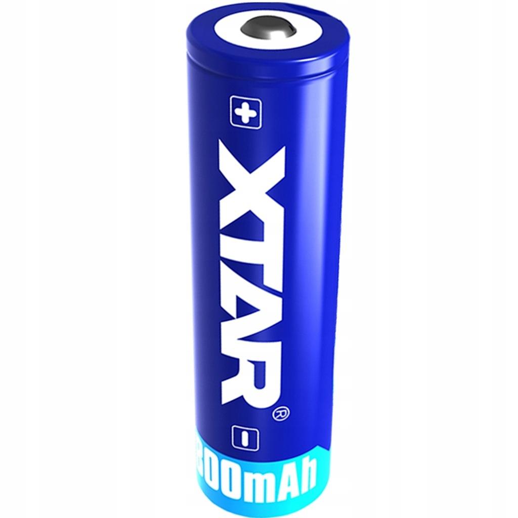 Akumulator Xtar 14500 AA R6 3,7V Li-ion 800mA PCM