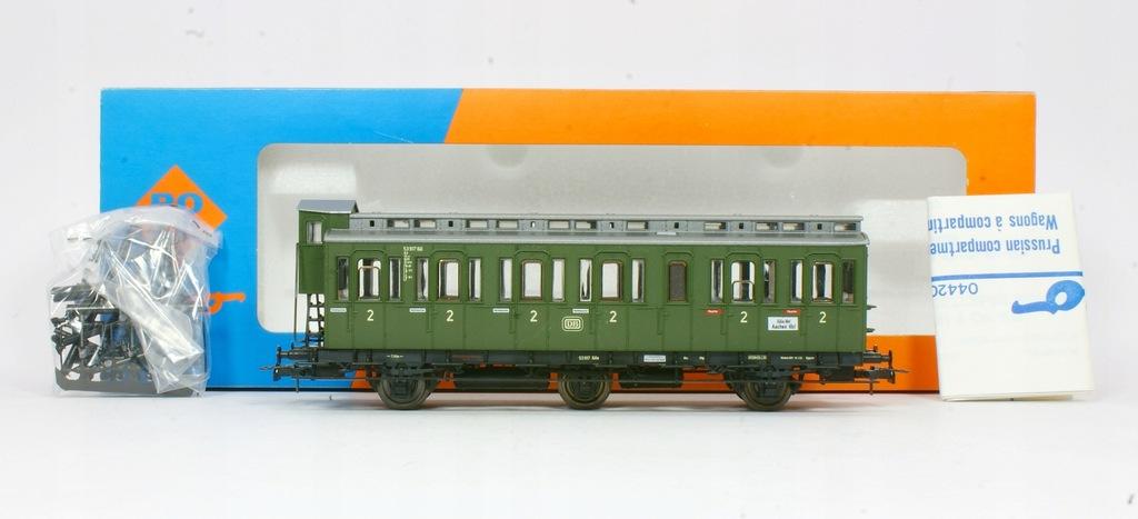 Roco. Wagon osobowy II klasa DB III ep.