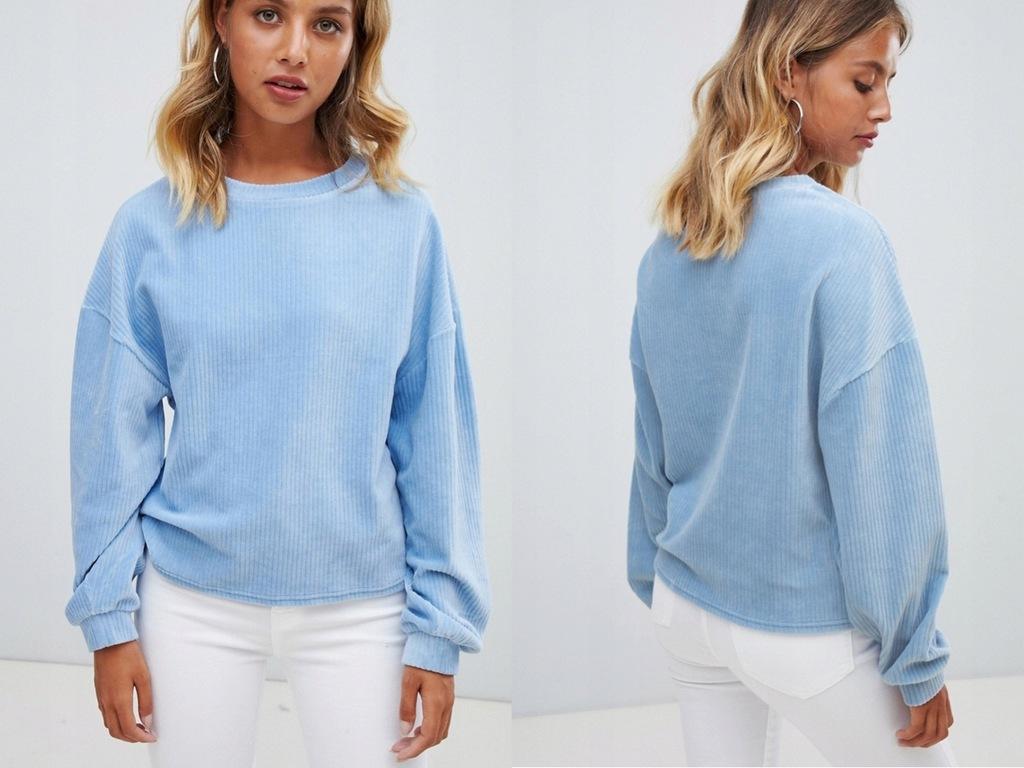 New Look - Prążkowana Bluza M - 38