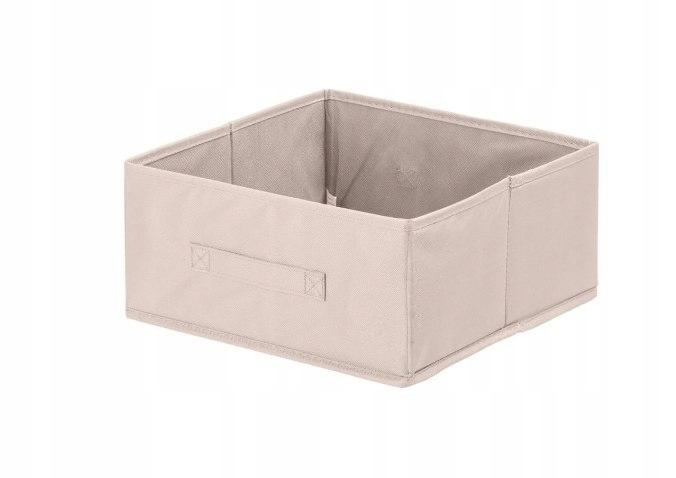 Pudełko tekstylne ANABEL 15x31x31cm jasny brąz 7l
