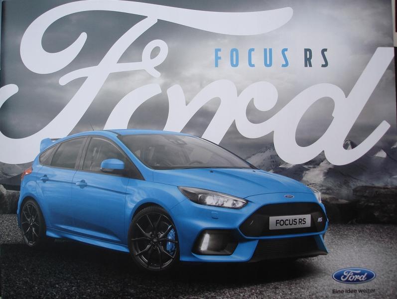 Ford Focus Rs 2016 Hit Prospekt 8112291945 Oficjalne Archiwum Allegro