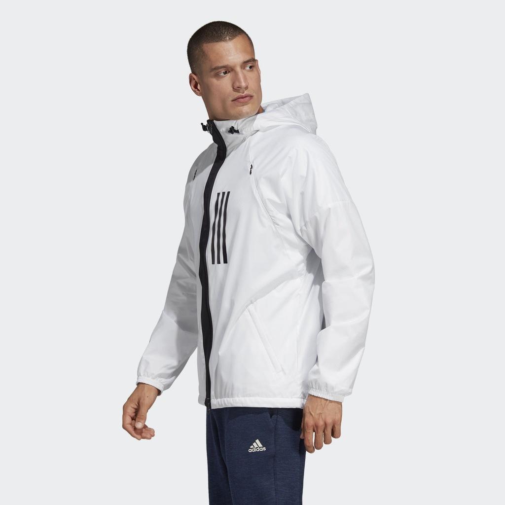 Kurtki wiatrówki kurtka id wnd fleece lined, , L XXL (adidas)