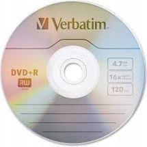Verbatim DVD+R/1/koperta 4.7GB 16x (474)