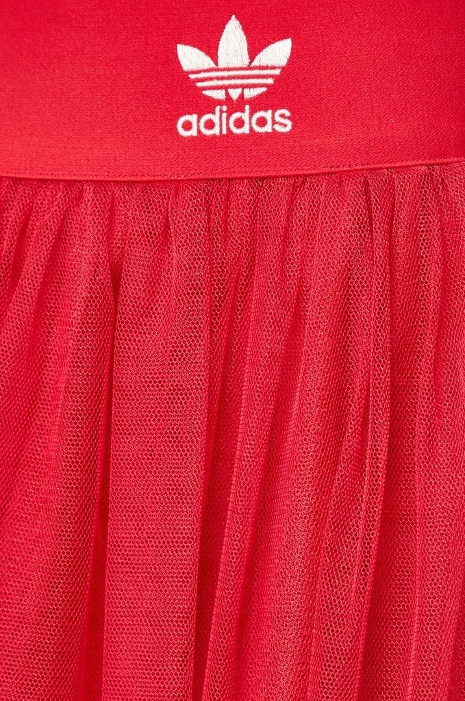 ADIDAS ORIGINALS spódnica mgiełka różowa tiul 40