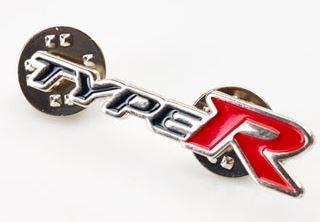 HONDA PLAZA - Przypinka / znaczek Honda Type-R !!