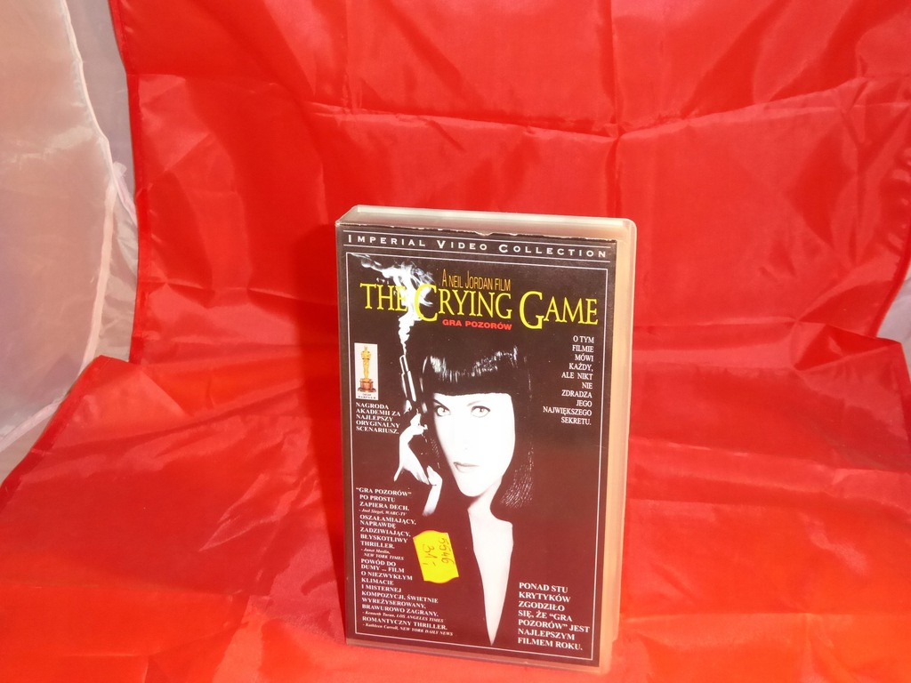 nowy film video vhs the crying game gra pozorow