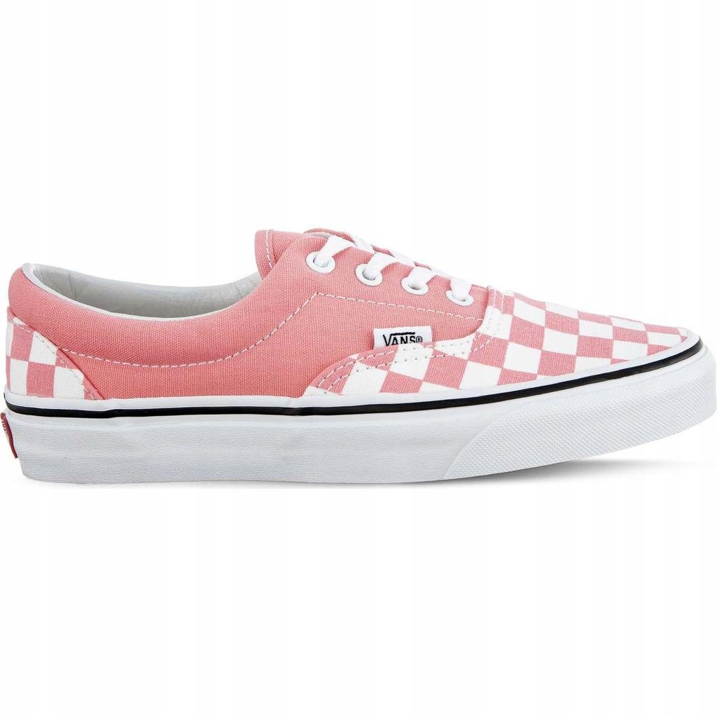 Buty Vans Męskie Promocja   Vans Allegro Checkerboard Różowe