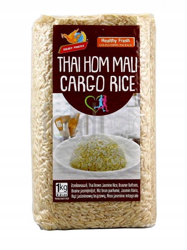 Tajski brązowy jaśminowy ryż import 1 kg