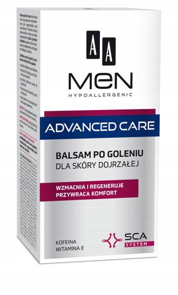 AA Men Advanced Care balsam po goleniu s. dojrzała