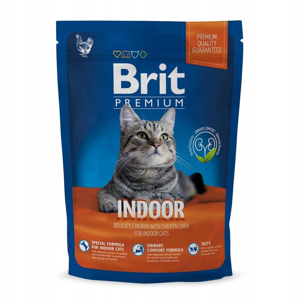 BRIT PREMIUM CAT INDOOR Koty niewychodzące 300 g