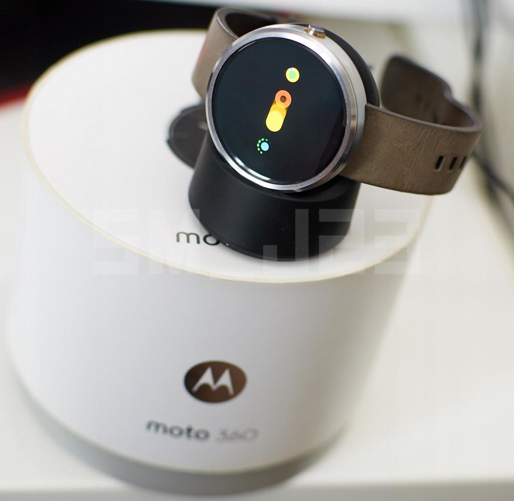 Smartwatch Motorola Moto 360 srebrny od 1zł