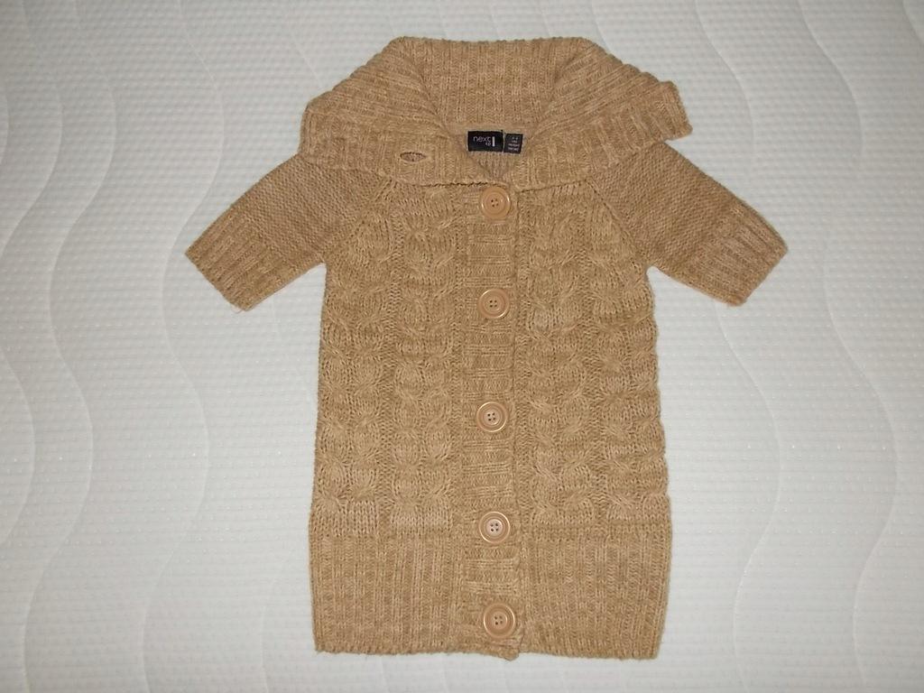 Sweter_next 5-6 lat 116cm rozpinamy