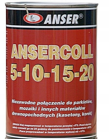 Klej do parkietu ANSERCOLL 5-10-15-20 1,1kg