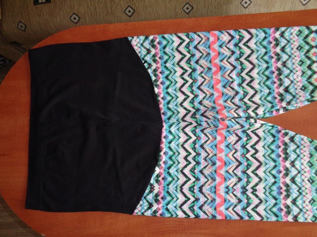 ACTIVE super elast. spodnie-legginsy ciążowe roz L