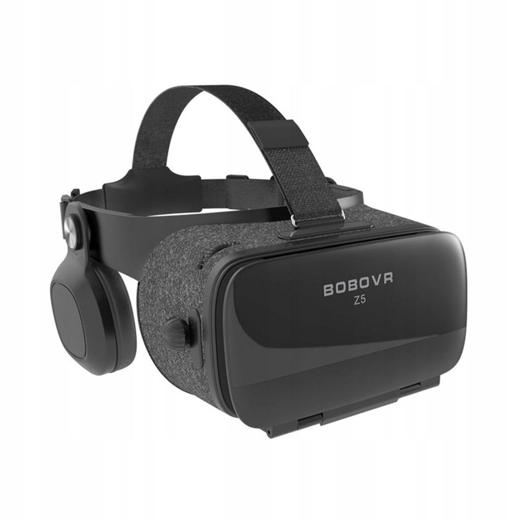 Okulary 3D Gogle VR 360 BOBOVR Z5 2018 +SŁUCHAWKI