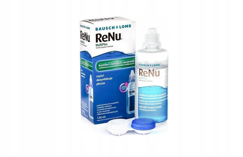 Płyn do soczewek ReNu Multiplus 120 ml 10/2021