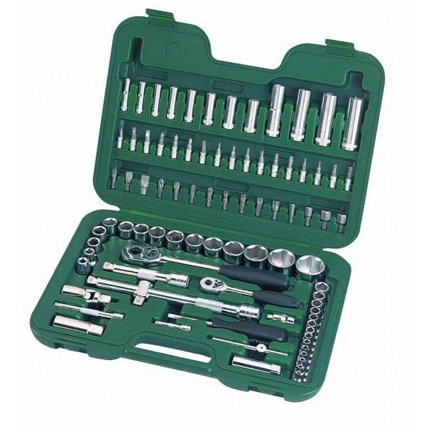 Zestaw narzędzi nasadowych SATA 09013 - WOŚP