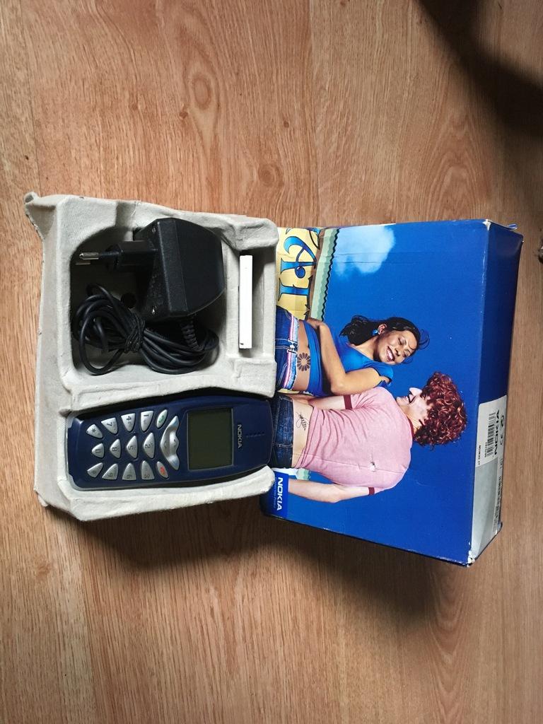 Nokia 3510 Bez i UNIKAT Oryginalny Komplet 2002r