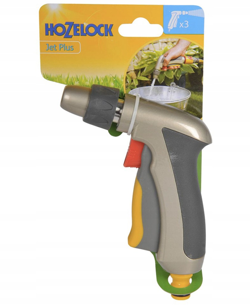 Pistolet zraszający metalowy HOZELOCK 2690