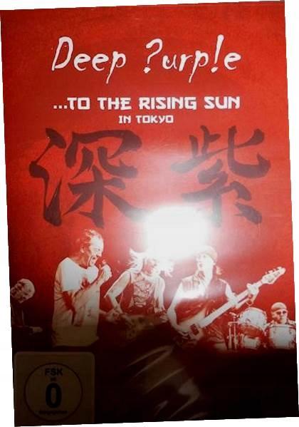 To this rising sun in Tokyo - Deep Purple DVD