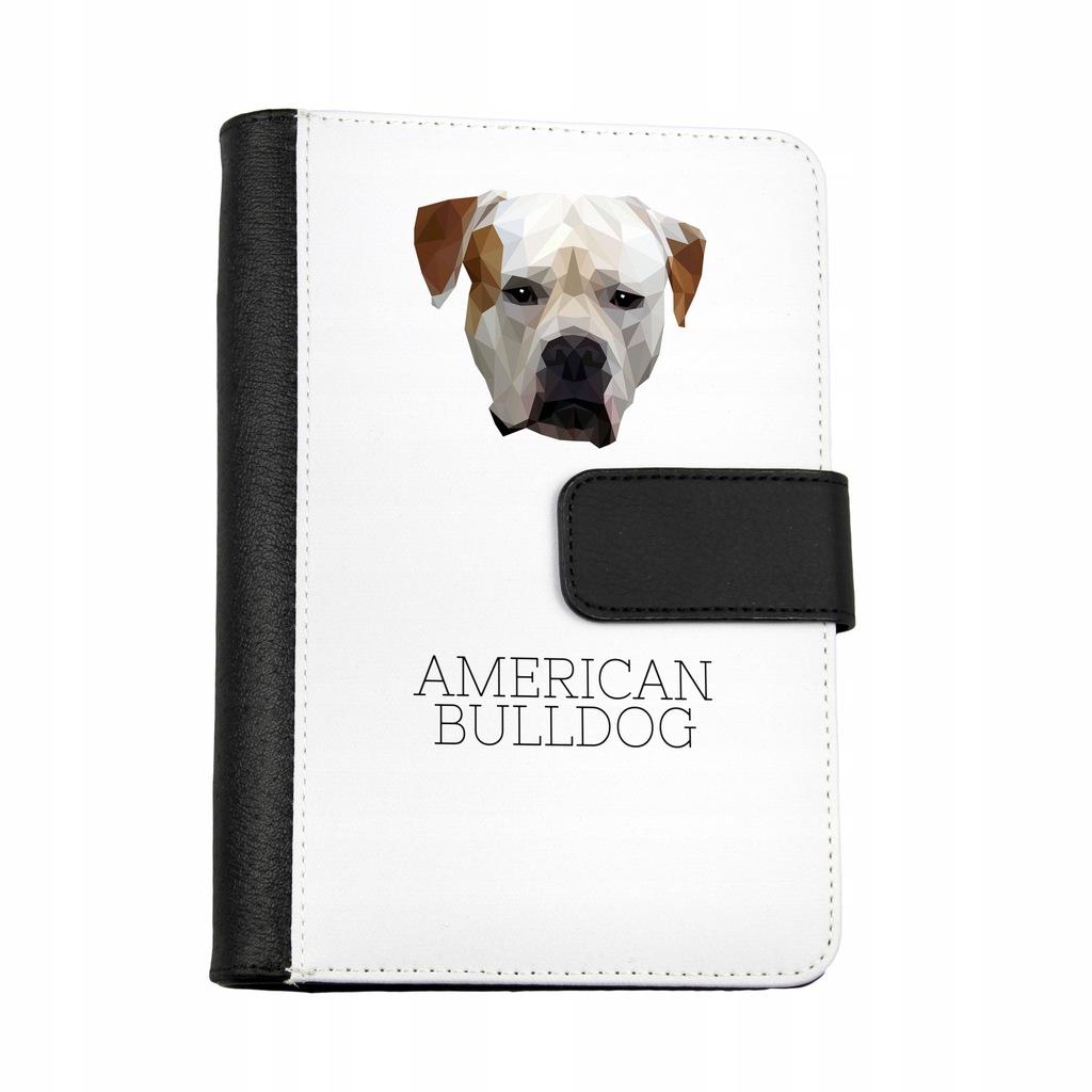 Buldog Amerykanski Notatnik Pies Geometryczny 7641205223 Oficjalne Archiwum Allegro