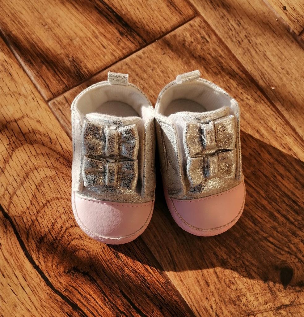 Buciki niemowlęce trampki niechodki 0-6m yo