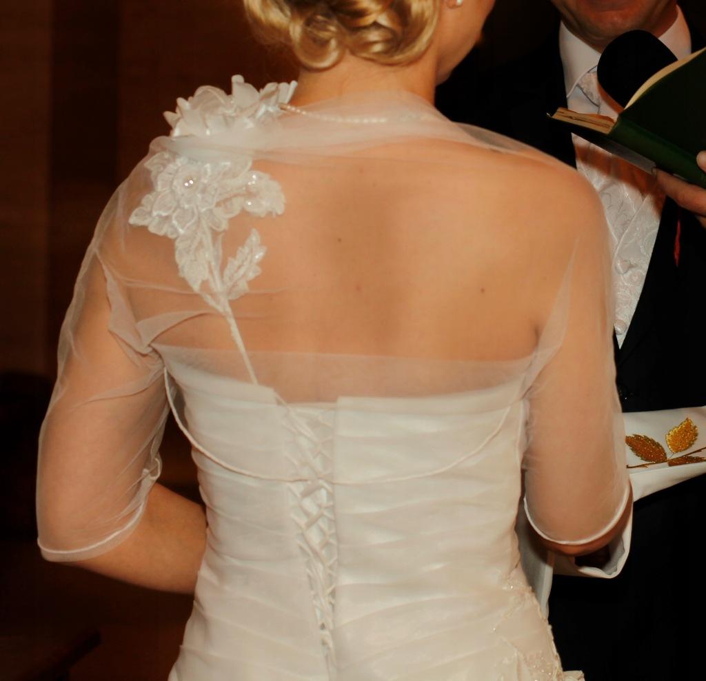 Sukienka ślubna rozm. 36
