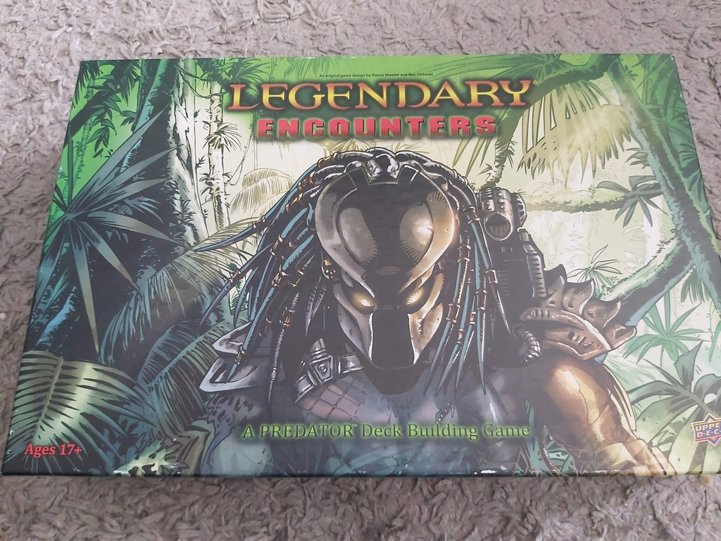 Legendary Encounters: Predator Deck Building Game