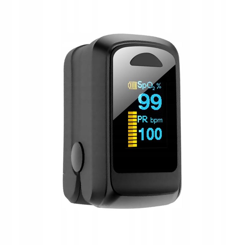 Cyfrowy pulsoksymetr Monitor tętna tlenu we krwi