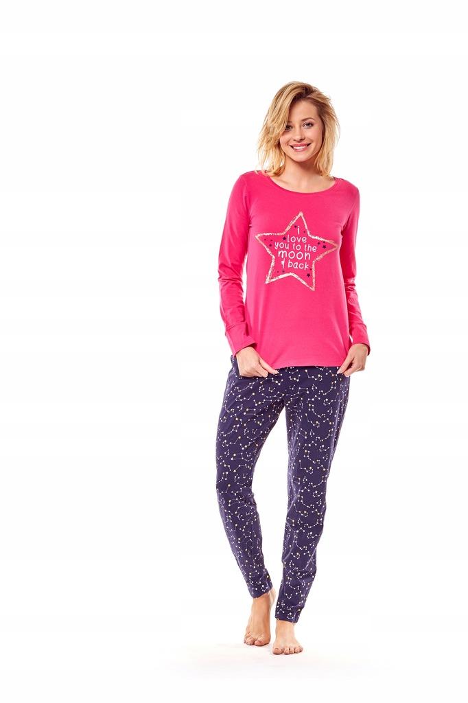 Piżama Moony 36171-42X Różowo-granatowa