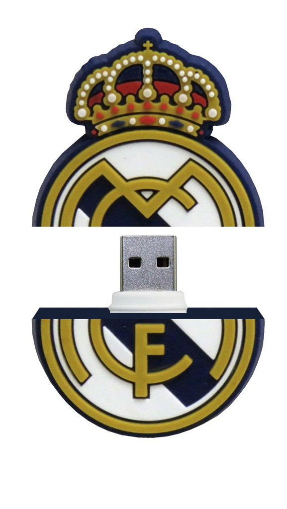 Pendrive 8 GB Real Madryt CYP Brands