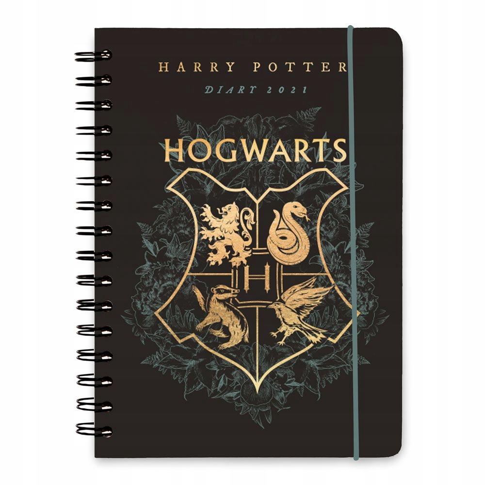 Harry Potter dziennik A5 kalendarz 2020/2021