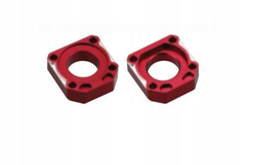 Napinacz tylnej osi accel czerwony Honda CBR1000RR