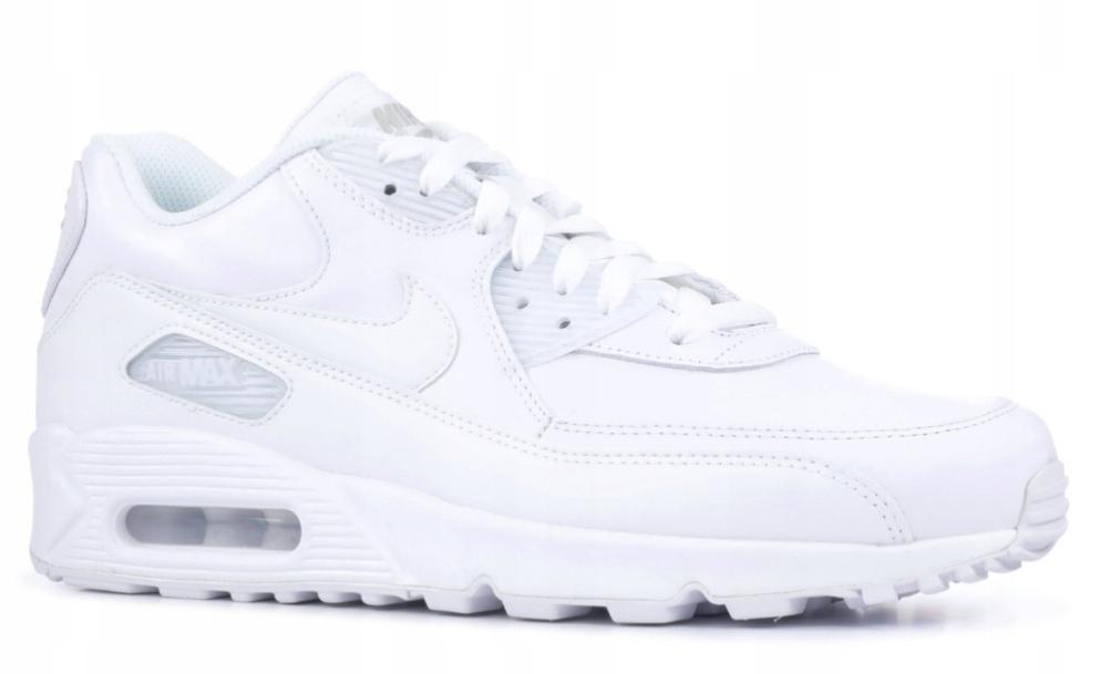 Buty Nike Air Max 90 Białe Damskie Rozmiar 40