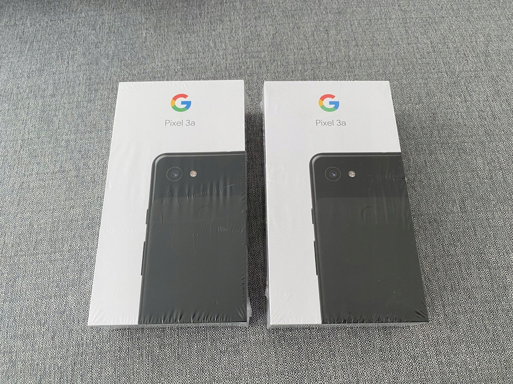 Google Pixel 3a 64GB Just Black NOWY GWARANCJA 24m