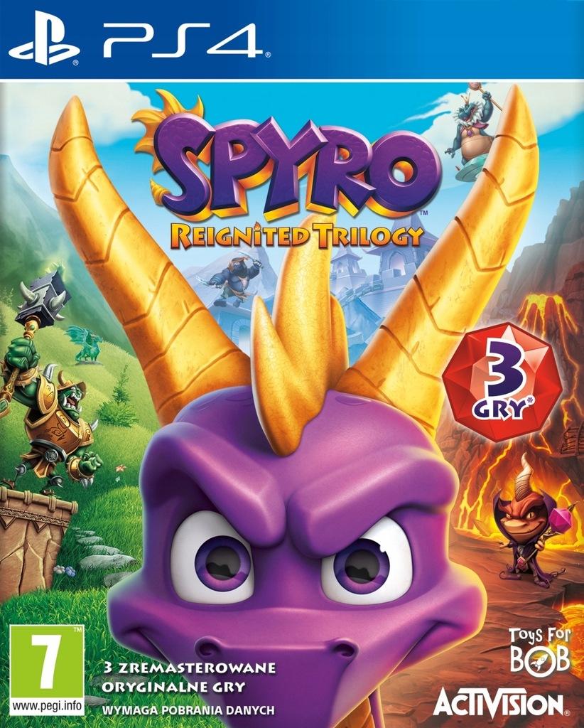 Spyro Reignited Trilogy PL - PS4 Używana