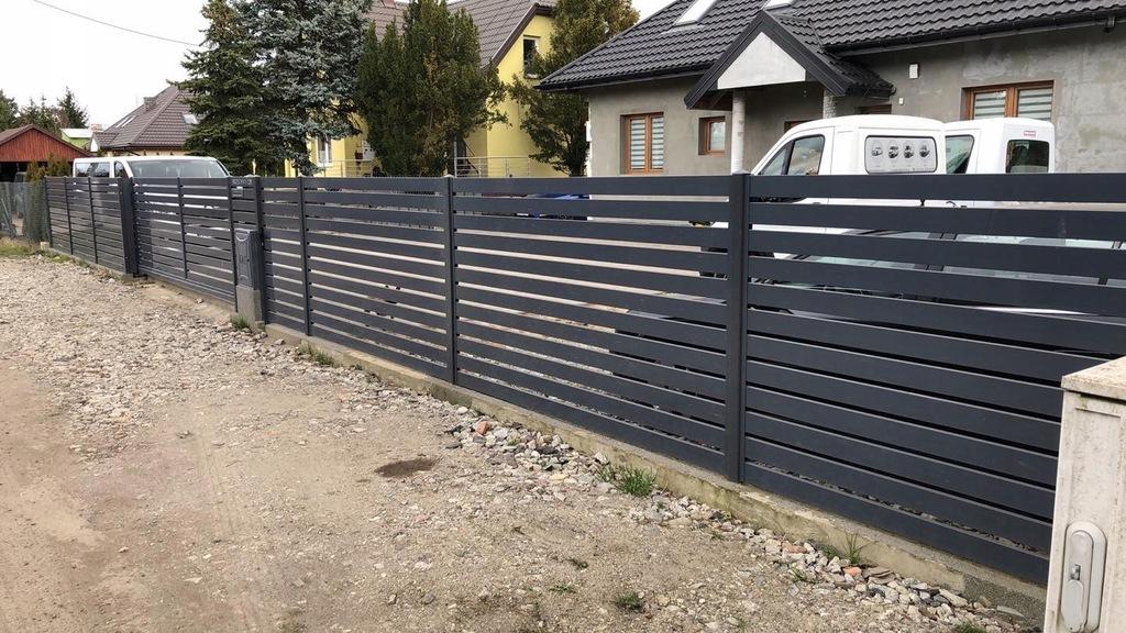 Ogrodzenie, Płot, Przęsło Aluminiowe 200x150