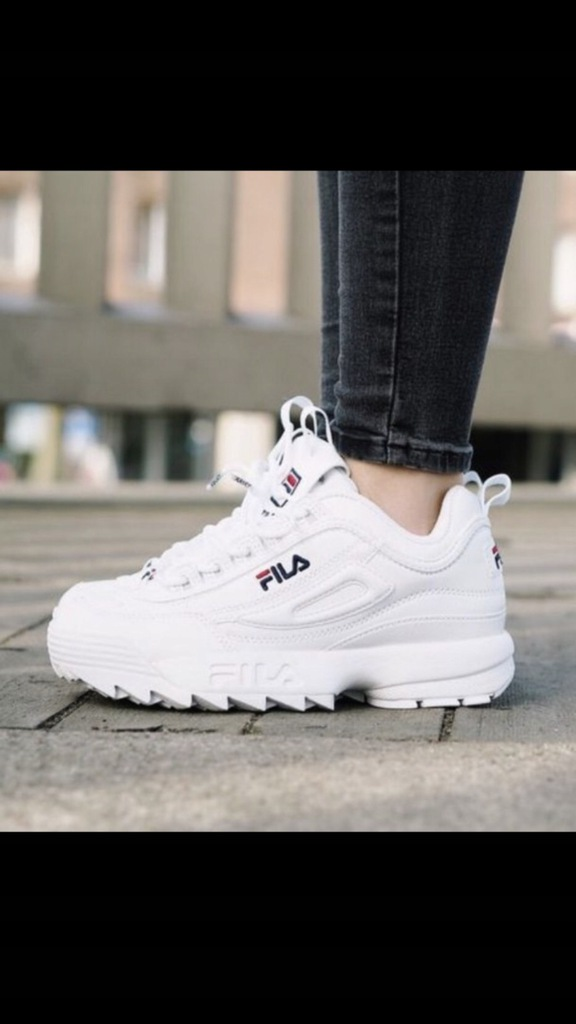 BUTY FILA DiSRUPTOR LOW II sneakersy 36 40
