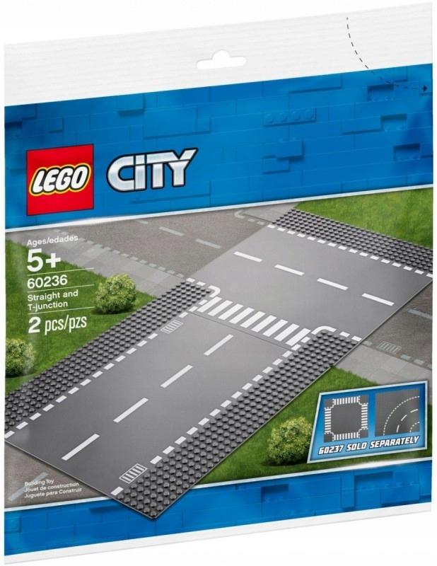 Klocki City Ulica i skrzyżowanie LEGO
